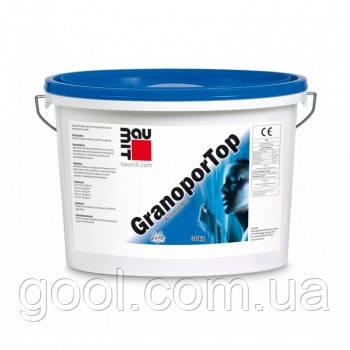 Акриловая декоративная штукатурка Baumit Granopor Top барашек 1,5 мм