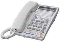 Проводной телефон Panasonic KX-TS2368RUW White (двухлинейный)