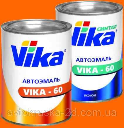 Эмаль автомобильная VIKA-60 (№601 Черная)
