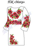 Платье женское ПЖ Маки