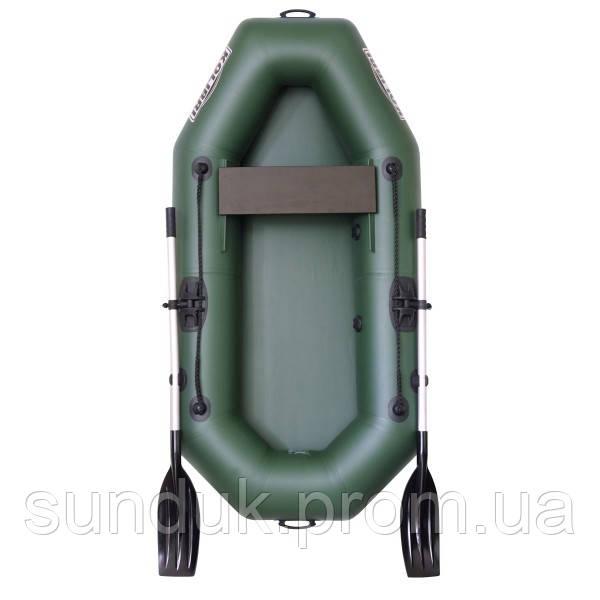 Надувная гребная лодка Колибри К-210
