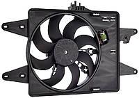 Вентилятор радiатора Fiat Doblo 1,6 16V (2000-2005) з кондицiонером