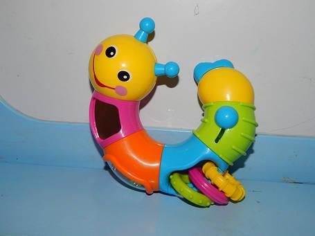 Игрушка Веселая гусеница , фото 2