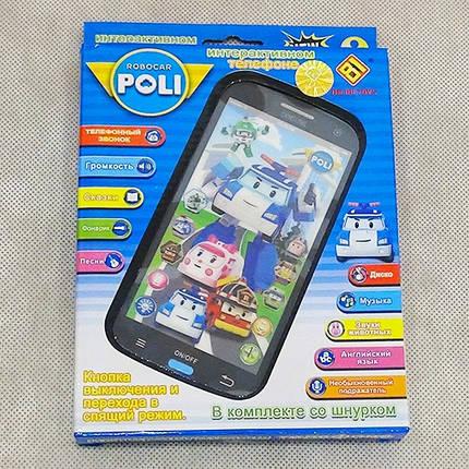 Интерактивный 3D телефон Поли Робокар , фото 2