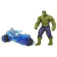 Набор фигурок Халк против мото-дрона Альтрона. Мстители. Оригинал Hasbro