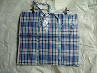 Хозяйственная сумка баул из  полипропилена клетка №1