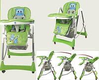 Стульчик для кормления C0101,C 0105, С 0104 с 4 колесами разных цветов, фото 1