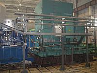 Замена металлических конструкций оконных проемов пульпо-насосной станции с заполнением поликарбонатом.  Работы
