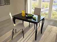 """Стеклянный кухонный стол """"Comfy Home"""" Egoist"""