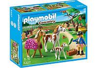 Конструктор Playmobil 5227 Загон для лошадей, фото 1