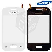 Touchscreen (сенсорный экран) для Samsung Galaxy Pocket 2 G110/G110B/G110F/G110H, оригинал (белый)
