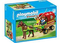 Конструктор Playmobil 5228 Детский вагончик с пони