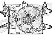 Вентилятор радiатора Fiat Doblo 1,6 16V (2005-2008) з кондицiонером
