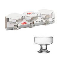 Набор креманок Gurmet 41016 (3шт) 100 мм