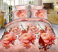 Полуторный комплект постельного белья 3D BL3138 поликоттон