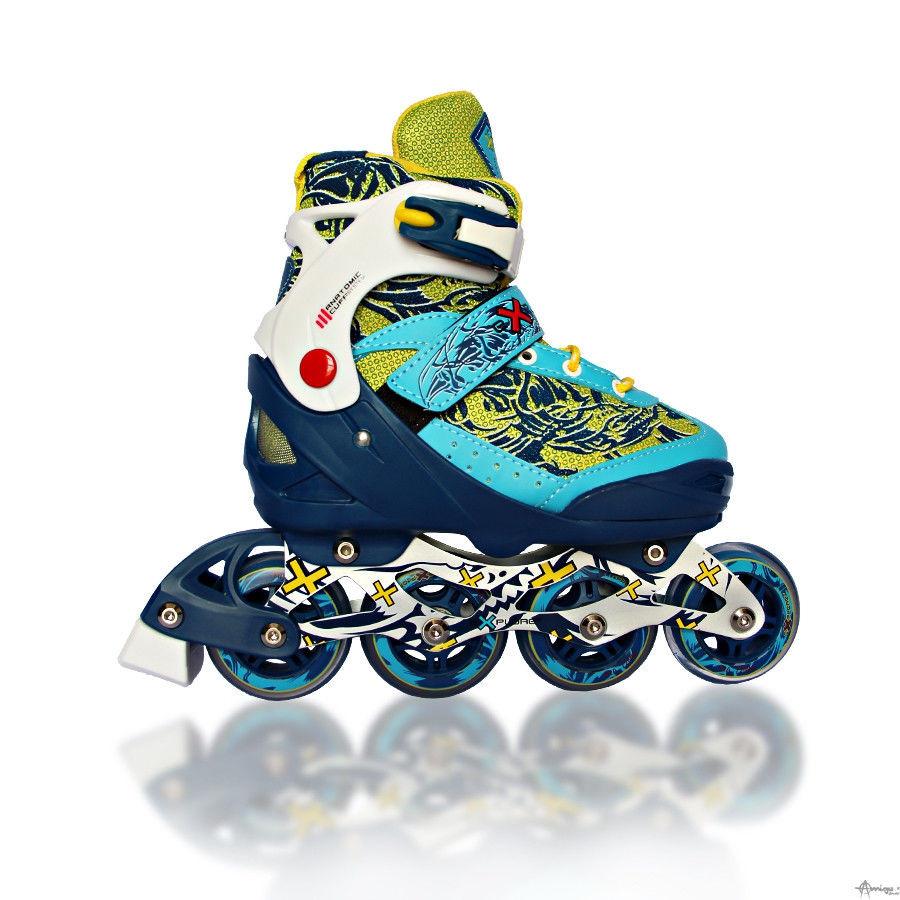 Раздвижные роликовые коньки Amigo Sport REKON, р. S(31-34)