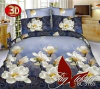Полуторный комплект постельного белья 3D BL3165 поликоттон