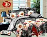 Полуторный комплект постельного белья 3D HL S5 поликоттон