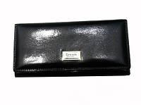 Женский кошелек Dream 08-001-1 черный из гладкой натуральной кожи, фото 1