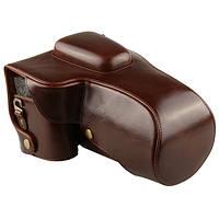 Защитный футляр - чехол для фотоаппаратов CANON 6D - коричневый (кофе)