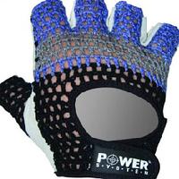 Перчатки Power System сетка, кожа для тренировки