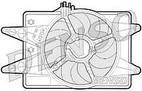 Вентилятор радiатора Fiat Doblo 1,9 D (2000-2005) з кондицiонером
