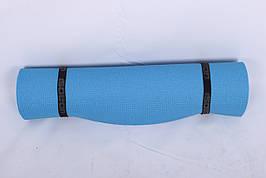 Каремат Комфорт 8мм. 180х60 синий