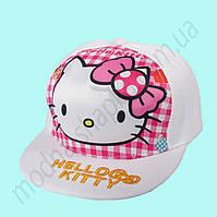 Детская бейсболка с прямым козырьком Hello Kitty