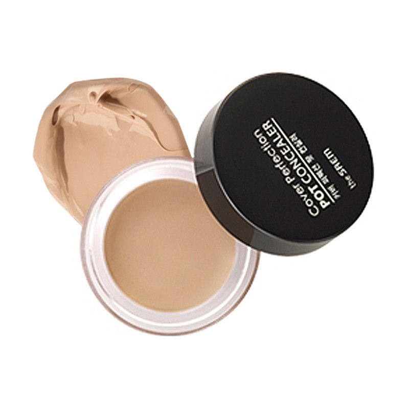 Консилер The Saem Cover Perfection Pot Concealer №01 Clear Beige