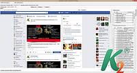Сервис SaaS для автоматического продвижения в социальных сетях. k2social 2