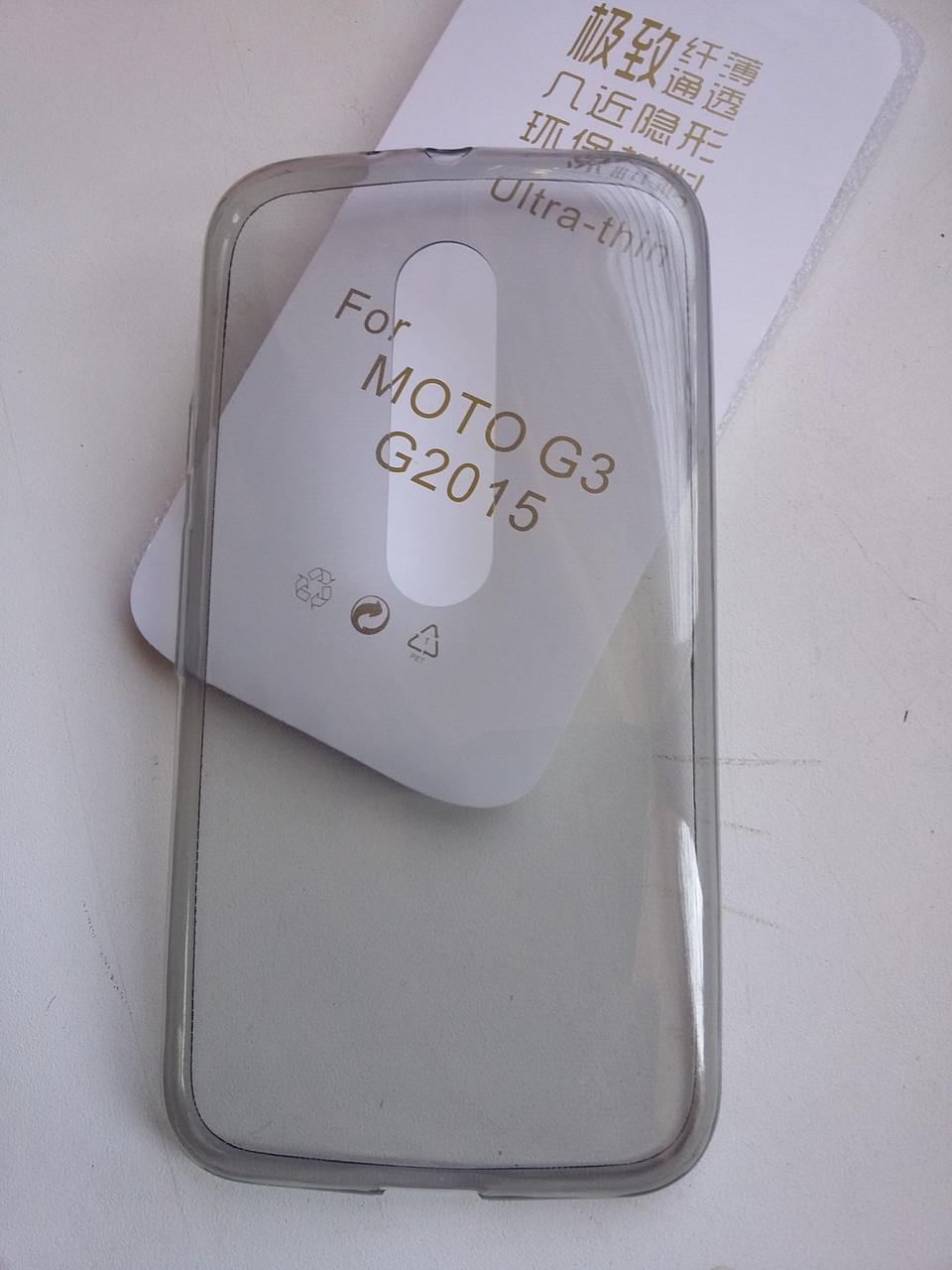 Силиконовый чехол для Motorola Moto G3 (2015)