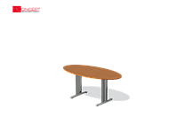 Конференц-стол Техно-плюс 1800х900х750 мм