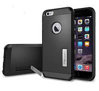 """Противоударный бампер Spigen для Apple iPhone 6 Plus 5.5"""" Black"""