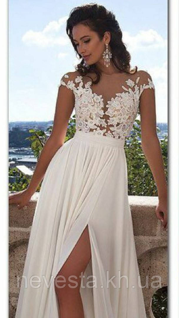 85301782f5a Свадебное платье юбка шифон
