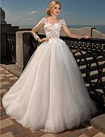 Свадебное платье с рукавом
