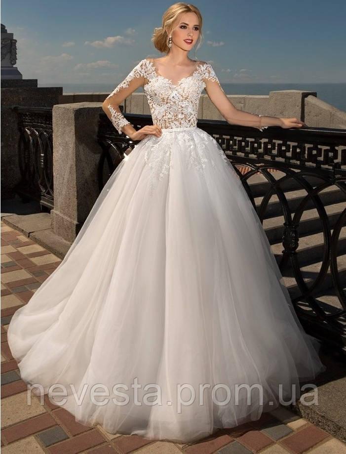53028ddcada Свадебное платье с рукавом - Свадебные платья