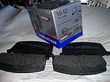 Колодки тормозные передние заз 1102 1103 таврия славута Tomex 10-52, фото 4