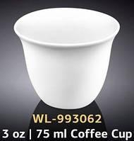 Набор чашек/кофе Wilmax. 75мл-12шт.Color WL-993062