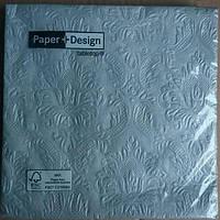 Салфетки бумажные Lunch Silver 20 штук Germany
