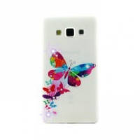 Чехол Diamond Silicone iPhone 5 Queen Butterfly