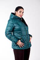 Куртка женская №27 зеленый р. 46;48; 50; 52; 54
