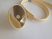 Рефлектор лобный с жесктим оголовьем D-90 мм