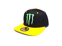Кепка реперка Monster Energy (Black & Yellow)