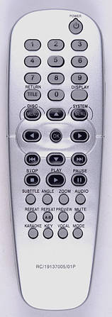 Пульт Philips RC-19137005-01P DVD (CE)