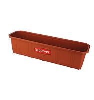 Ящик балконный для цветов терракотовый 60 см Curver