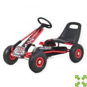 Детская педальная машина веломобиль Карт M 0645-3