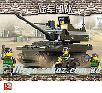 Конструктор Sluban (Слубан) Танковые войска: 258 деталей, 4 фигурки