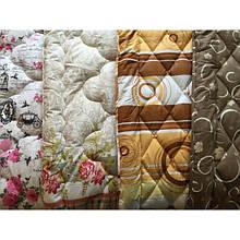 Тёплое одеяло 140х205 с наполнителем холлофайбер COLOUR FIBER