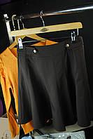 Стильная юбка, черного цвета