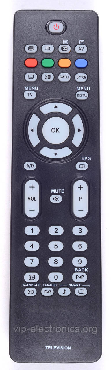 Пульт Philips RC-2034301/01 (LCD,TV) (CE)